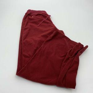 Ralph Lauren Mens Red Lounge Sweat Pants Size S